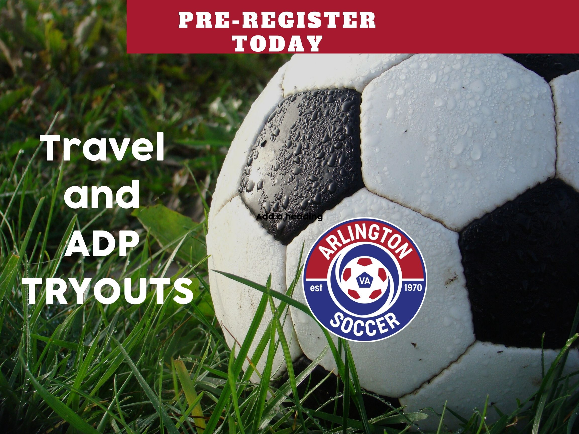 Travel and ADP Tryouts